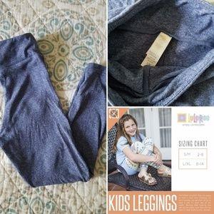 LuLaRoe Kids Leggings~size S/M